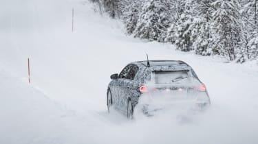 Mercedes A-Class 2018 ride rear