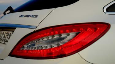 Mercedes CLS 63 AMG Shooting Brake badge