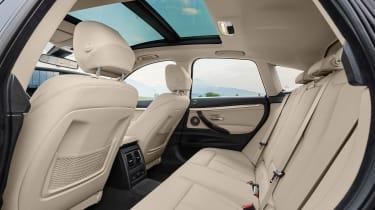BMW 3 Series GT - rear seats