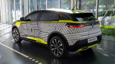 Renault Megane E-Tech Electric SUV - rear