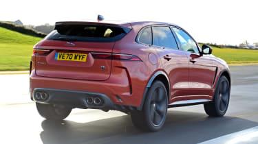Jaguar F-Pace SVR - rear tracking