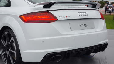 Audi TT RS - Goodwood FoS rear