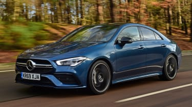 Mercedes-AMG CLA 35 - front tracking