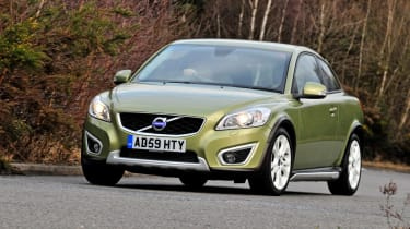 The Volvo C30 is intended to be a rival to premium hatches like the BMW 1-Series and Audi A3.