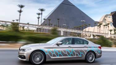 BMW 5 Series Personal CoPilot autonomous prototype front