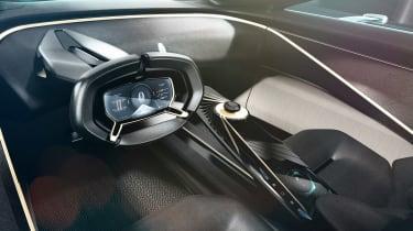 Lagonda All-Terrain concept - dash