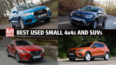 Best used small 4x4s and SUVs