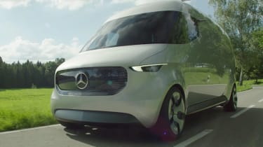 Mercedes Vision Van - video front tracking