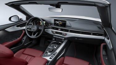 New Audi A5 Cabriolet 2017 interior