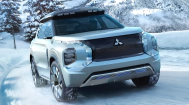 Mitsubishi Englberg Tourer concept - front