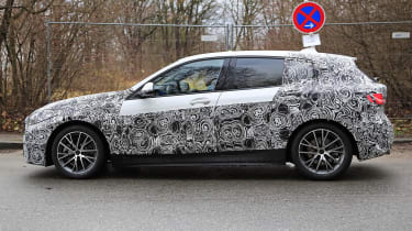 bmw 1 series spy shot side