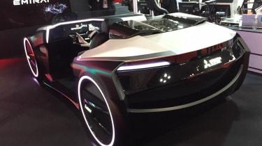 Mitsubishi EMIRAI 3 xDAS concept - rear
