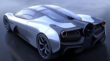 Gordon Murray Automotive T.50 - rear teaser