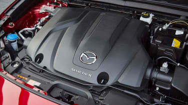 Mazda CX-30 SkyActiv-X - engine bay