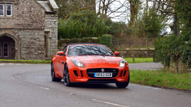 Jaguar F-Type long termer action