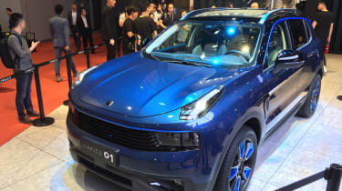 lynk and Co 01 SUV production car Shanghai 2017