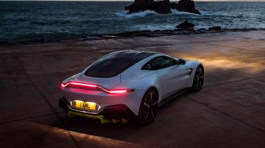 Aston Martin Vantage - rear static dusk