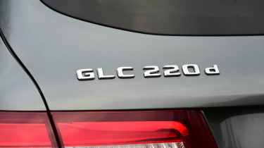 Mercedes GLC long-term third report - GLC 220d badge
