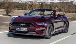 Ford Mustang EcoBoost Convertible - front
