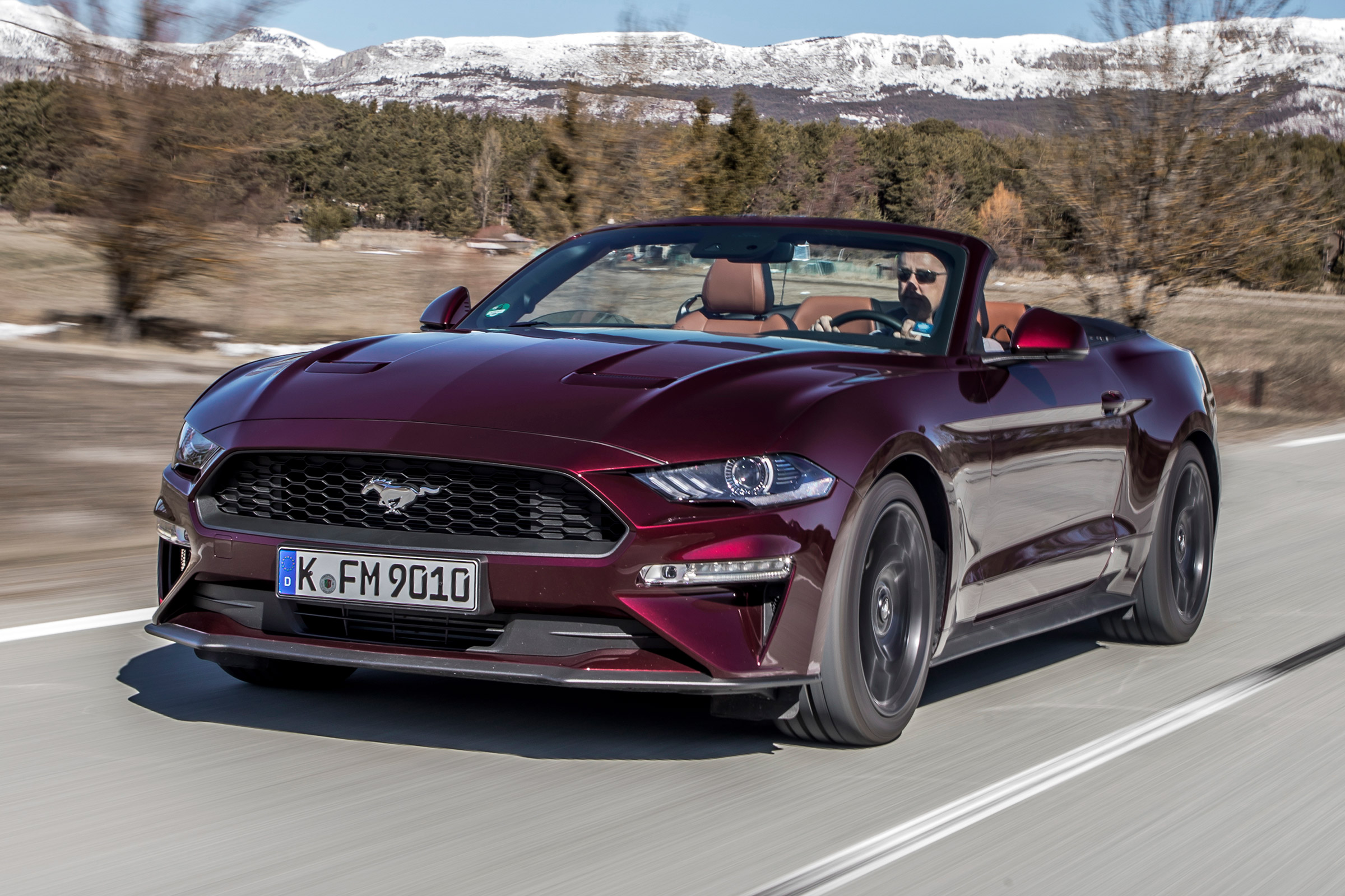 New Ford Mustang Ecoboost Convertible 2018 Review Auto Express