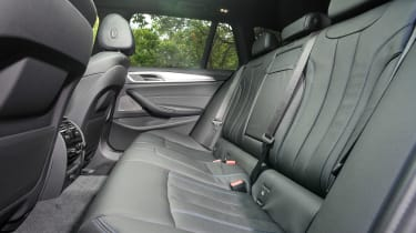 BMW 5 Series Touring - rear seats