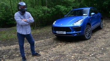 Long-term test review: Porsche Macan - helmet
