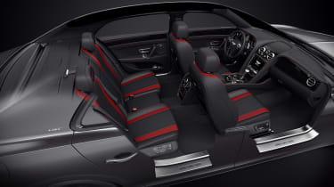 Bentley Flying Spur V8 S Black Edition cabin