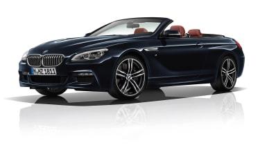 BMW 6 Series black convertible
