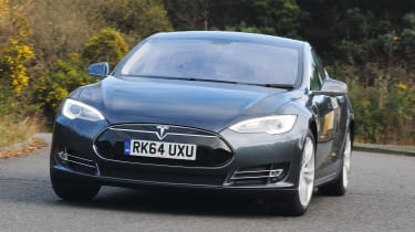 Used Tesla Model S - front