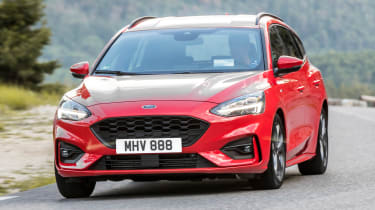 Ford Focus Estate - front action
