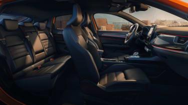 Renault Arkana - seats