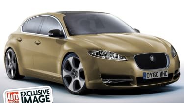 Jaguar's new 1-Series rival front