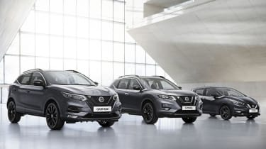 Nissan X-Trail, Qashqai and Micra N-Tec
