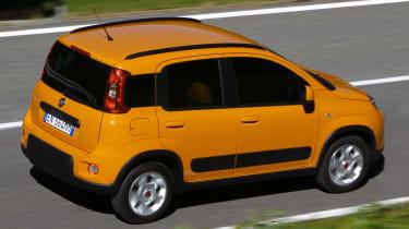 Fiat Panda Trekking rear panning