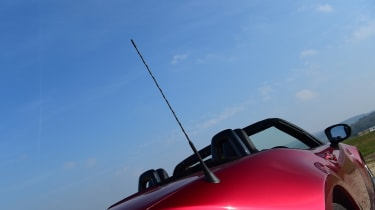 Mazda MX-5 long termer - first report aerial