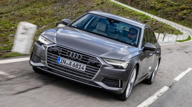Audi A6 - front tracking