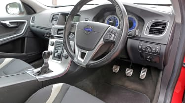 Used Volvo V60 - dash