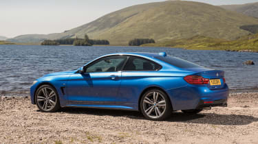 Used BMW 4 Series - rear static