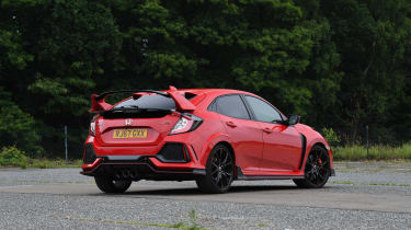 Honda Civic Type R - rear static