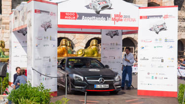 Mercedes SL Mille Miglia 417 - Mille Miglia