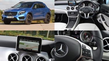 Mercedes COMAND infotainment system - test car: Mercedes GLA