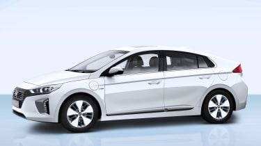Hyundai Ioniq plug-in PHEV - side