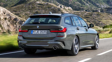 BMW 3 Series Touring - rear tracking