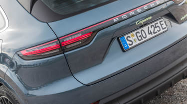 Porsche Cayenne E-Hybrid - rear detail