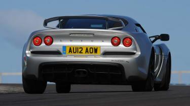 Lotus Exige S rear cornering