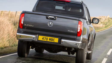Mercedes X-Class review - rear