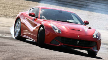 Ferrari F12 Berlinetta front cornering
