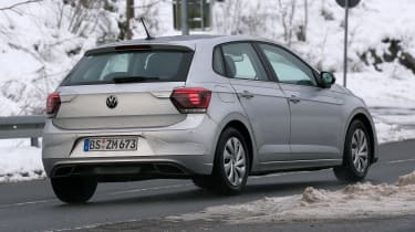 Volkswagen Polo hatchback spied - rear