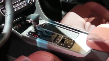 New Kia Optima GT gear lever