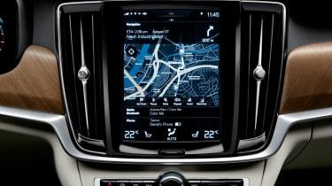 Volvo S90 - screen
